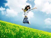 весна счастье
