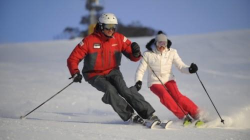 Зимние виды спорта - Катание на горных лыжах