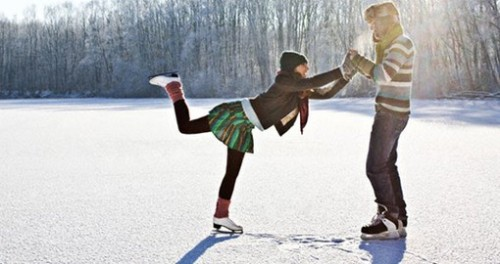 Зимние виды спорта- Катание на коньках