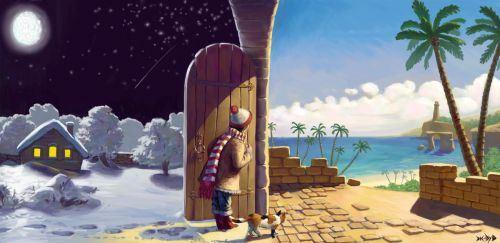 Отдых зимой и летом