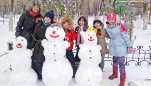 Зимние игры для семьи на природе